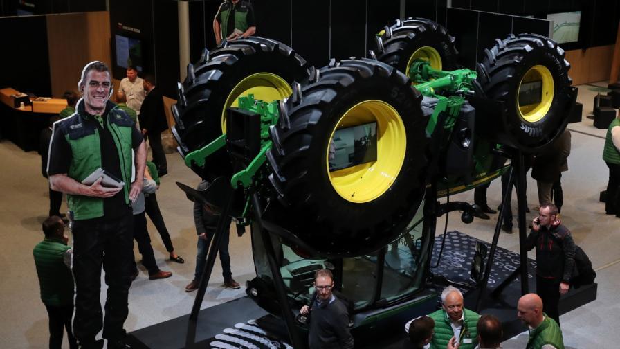 Най-мащабното изложение за агротехника