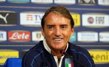 Официално: Манчини остава начело на Италия за следващите пет години
