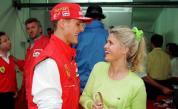 <p>Съпругата на <strong>Шумахер</strong> с много рядко интервю</p>