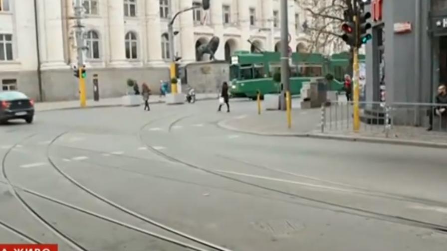 Катастрофата с трамвай - грешка на ватмана