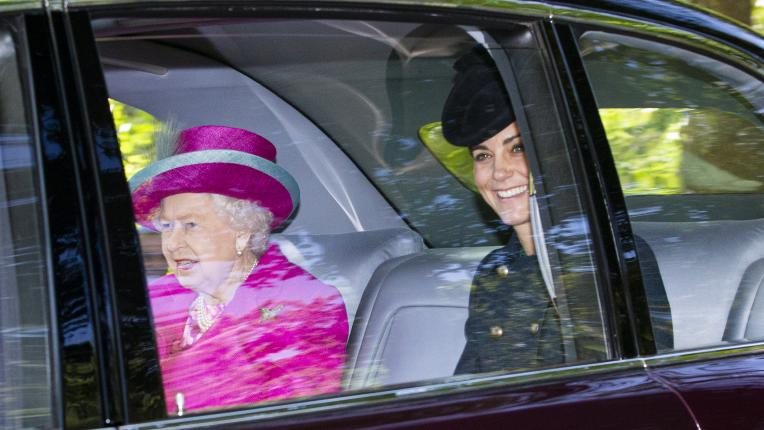 Общите моменти на кралица Елизабет и Кейт Мидълтън