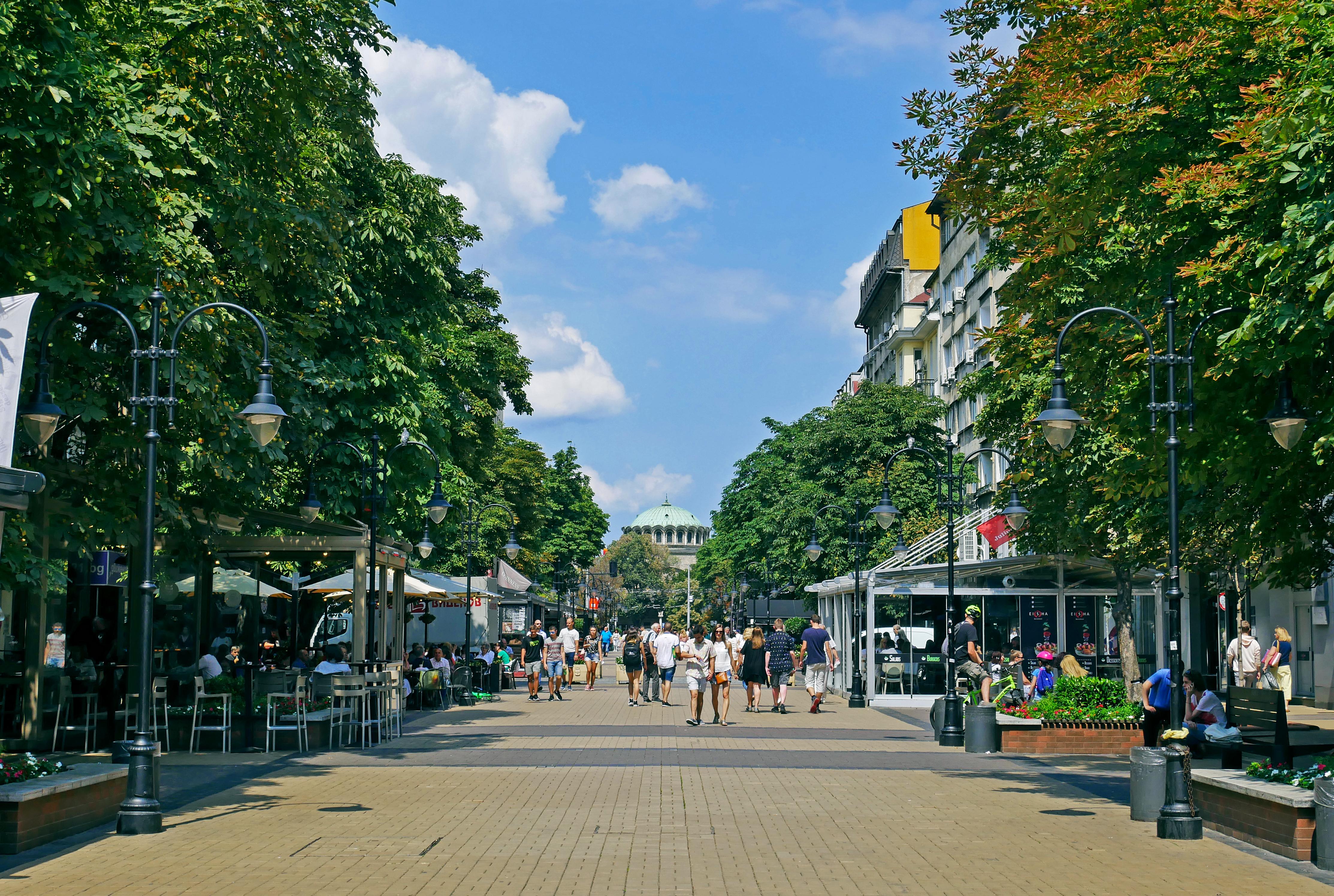 <p>Столичният булевард &bdquo;Витоша&ldquo; се изкачи в класация за най-скъпите улици в Европа според листа на американска компания за недвижими имоти. С месечен наем от 56 евро за квадратен метър софийската търговска улица достигна 46-о място в проучването, придвижвайки се с едно място по-нагоре спрямо миналогодишното класиране. Изследването обхваща 448 търговски дестинации в 68 страни по света.</p>