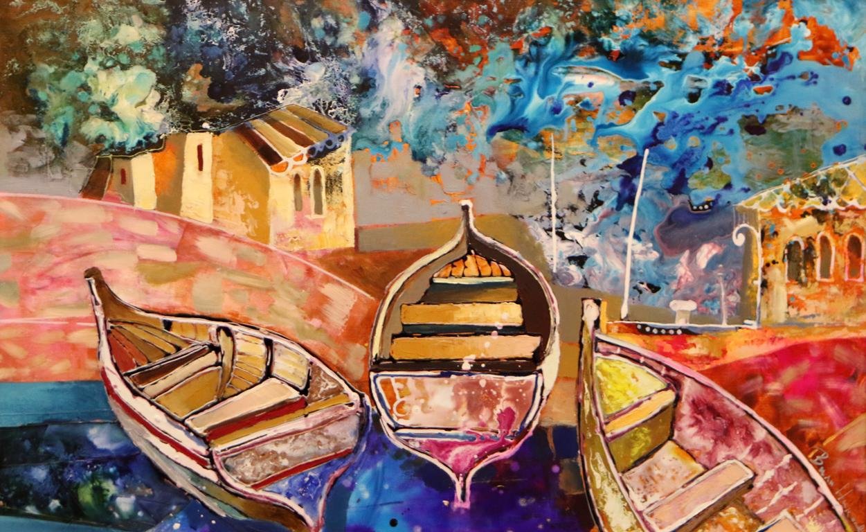 <p>Изложба живопис на Вили Николов, в галерия &quot;Лик&quot;</p>  <p>Пристан</p>