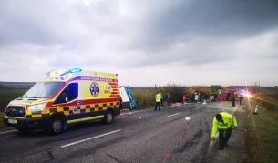 Страшна катастрофа в Словакия, много загинали и ранени