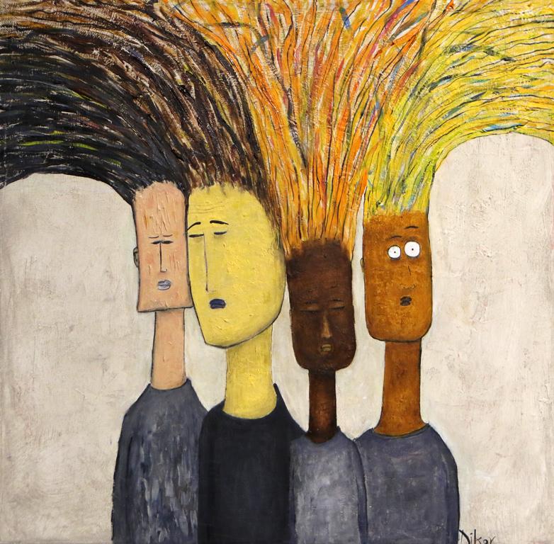 <p>Хора с коси</p>  <p>&ldquo;Портрети на хора и други неща&ldquo;- изложба на Венцислав Диков в Галерия &quot;АДОРА&quot;</p>
