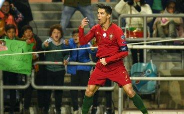 Рецитал на Роналдо при разгром над Литва