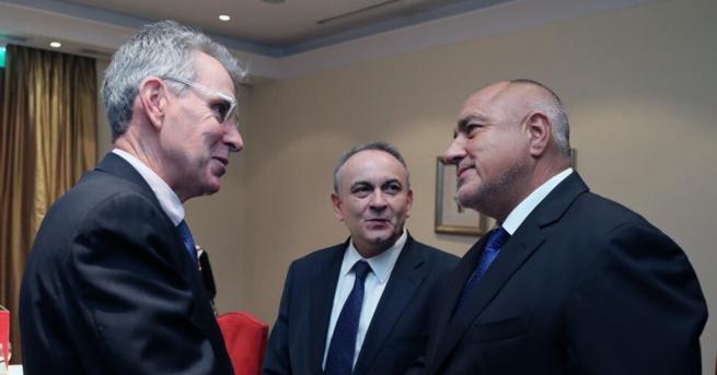 България Борисов и посланикът на САЩ в Гърция обсъдиха диверсификацията
