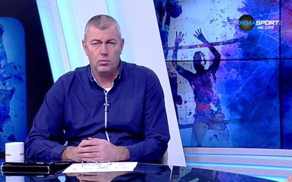 Волейболната легенда Димо Тонев коментира решението на водещите клубове да