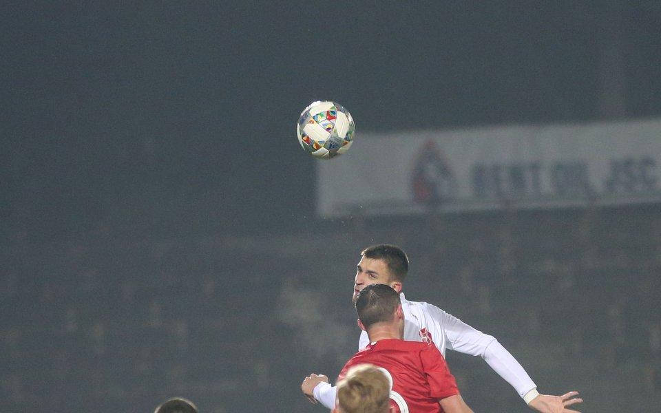 Централният нападател на младежкия национален отбор Калоян Кръстев коментира успеха