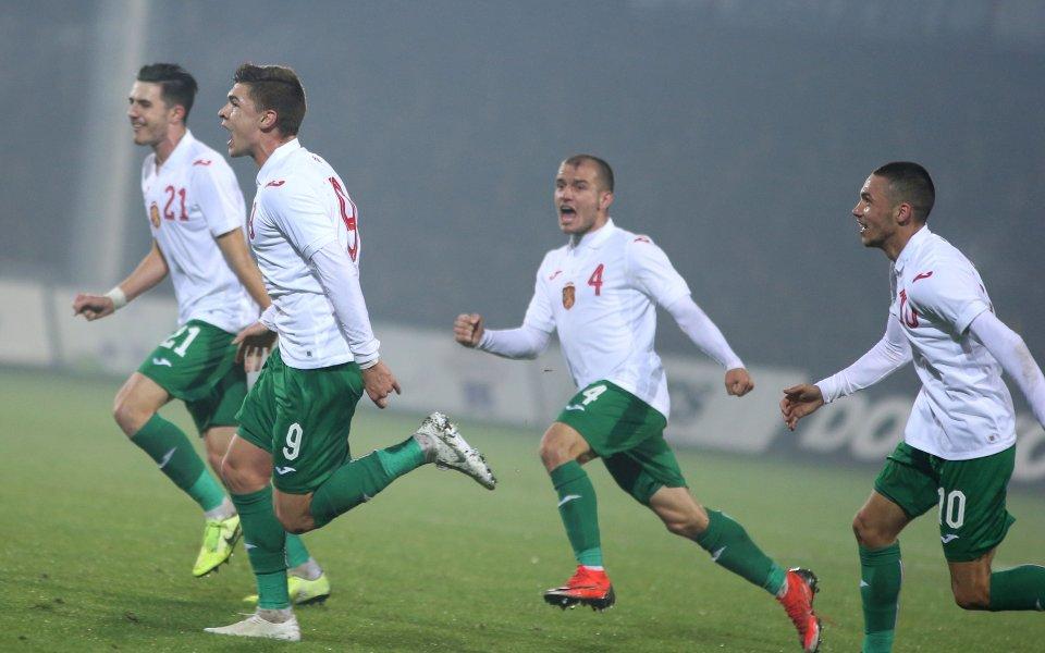 Младежкият ни национален отбор по футбол приема Полша U21 в