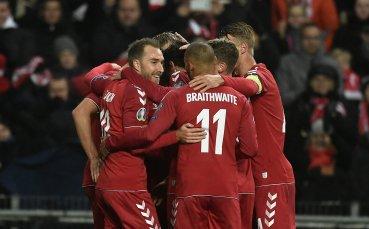 Дания смля Гибралтар, Швейцария се измъчи срещу Грузия