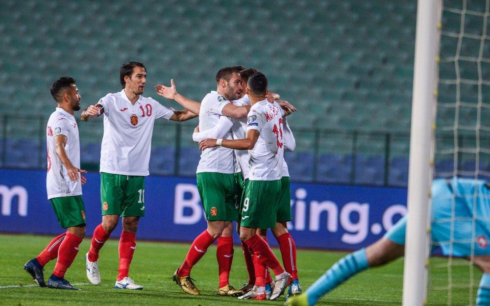 Капитанът на националния отбор на България - Ивелин Попов, е