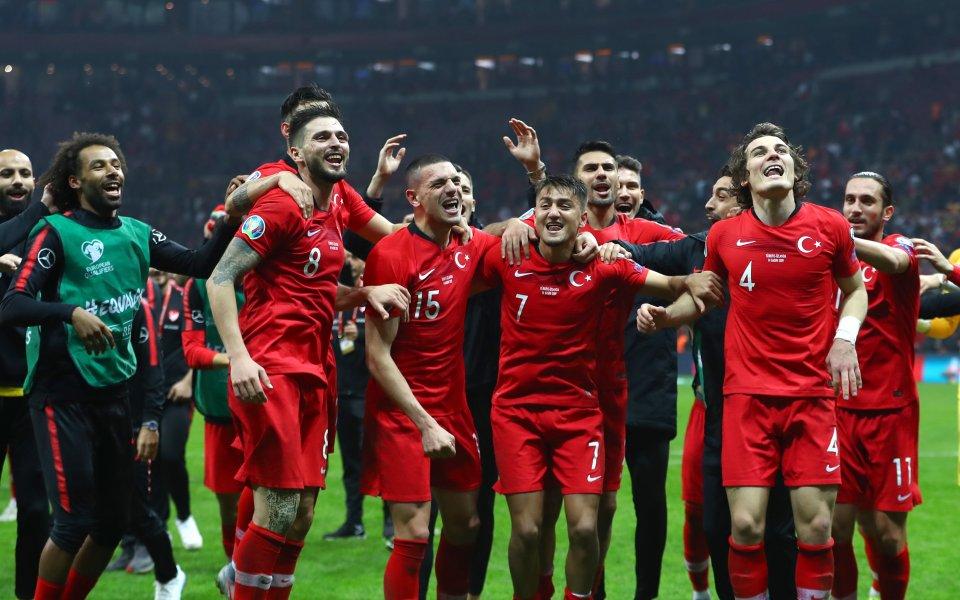 Националният отбор на Турция победи с 2:0 като гост Андора