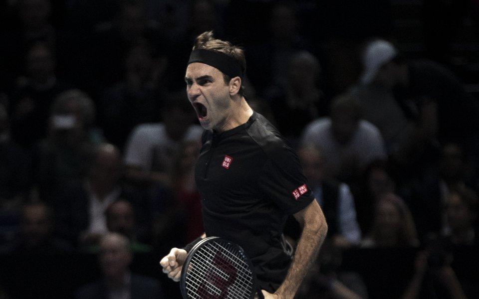 Снимка: Продадоха над 40 хиляди билета за мач на Федерер за 3 часа!