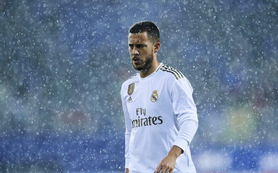 Звездата на Реал Мадрди Еден Азар определи съотборника си Карим