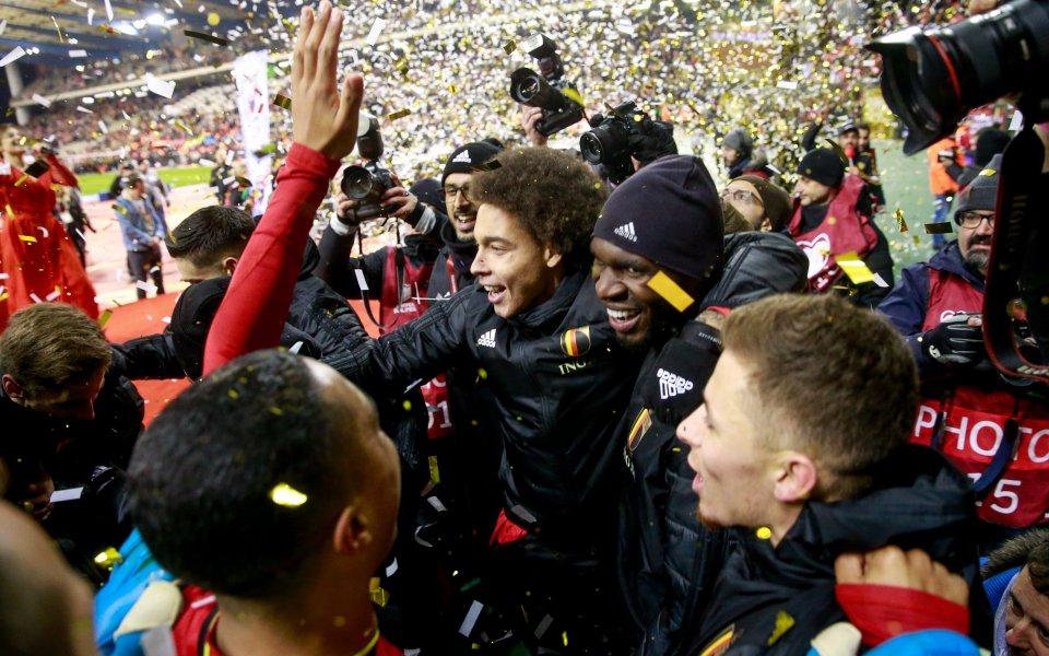 Белгия завърши евроквалификациите с разгромна победа с 6:1 срещу Кипър.