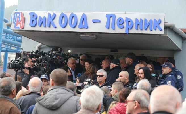 Икономическа полиция проверява кой е източил водата в Перник