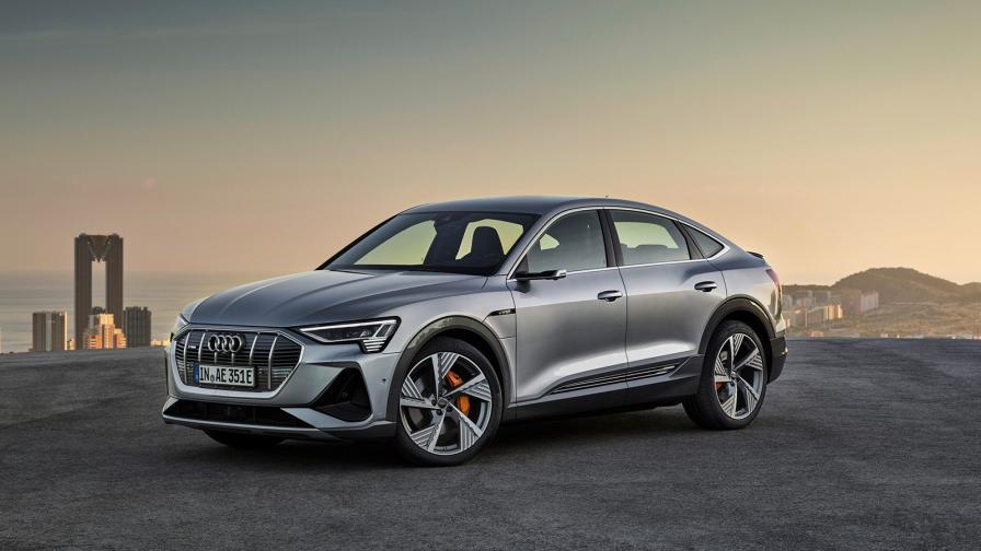 <p>Офанзивата на Audi продължава с e-tron Sportback</p>