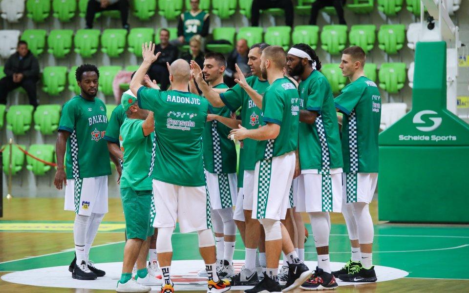 Балкан продължава да мачка в баскетболния шампионат