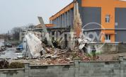 Взрив на парен котел срина сграда в Харманли