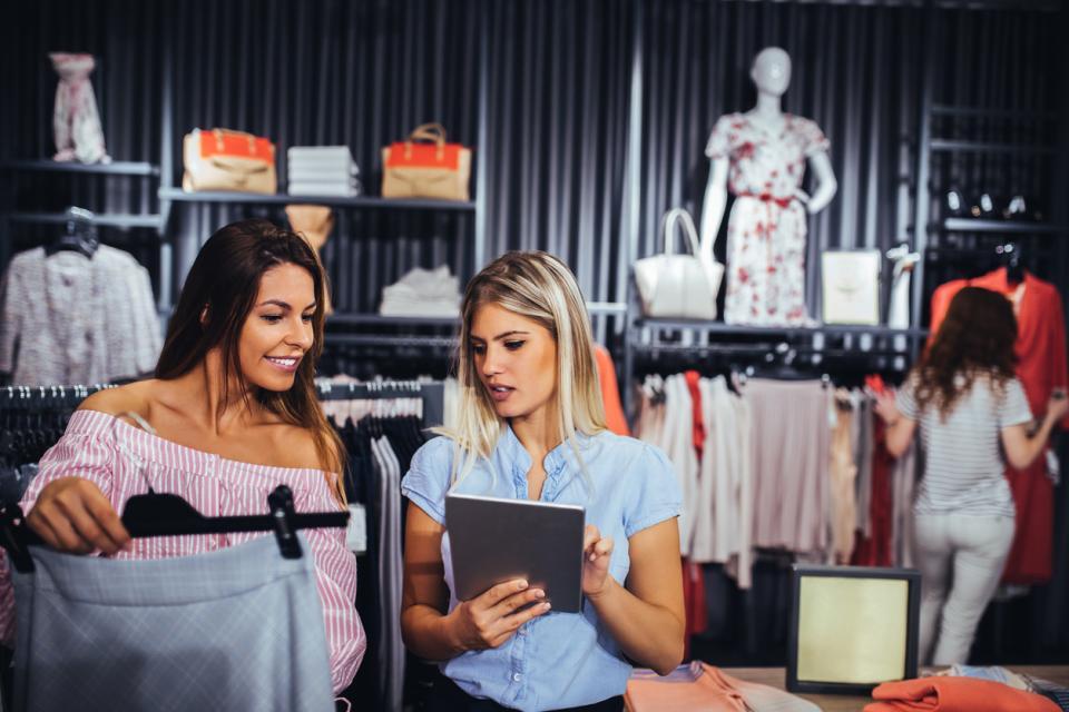 пазар пазаруване мода