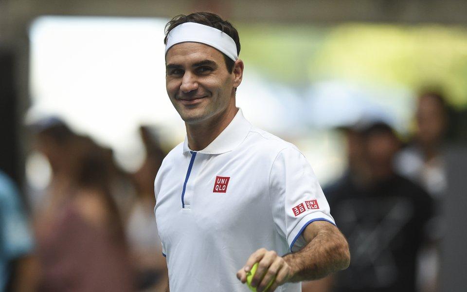 Роджър Федерер коментира тема, която не е засягана често от