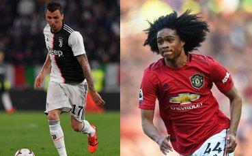Юнайтед включва млад талант в сделката за Манджукич