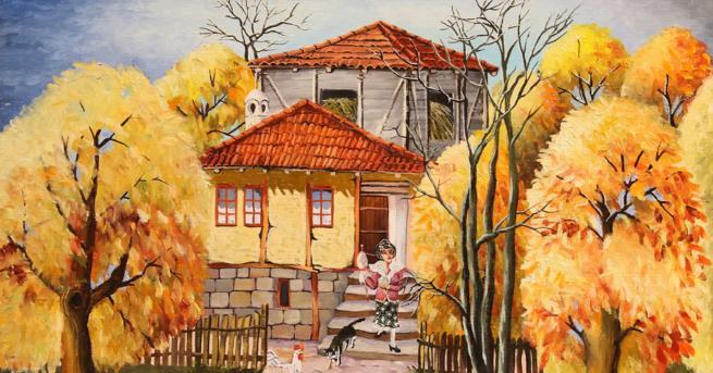 Любопитно Цветни, пъстри, пълна идилия - картините на Димитър Вецин