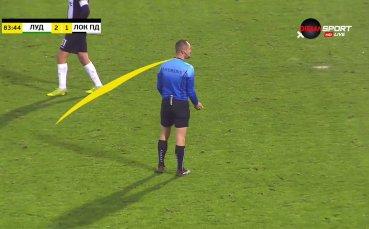 Скандално не признаха редовен гол на Моци срещу Локомотив