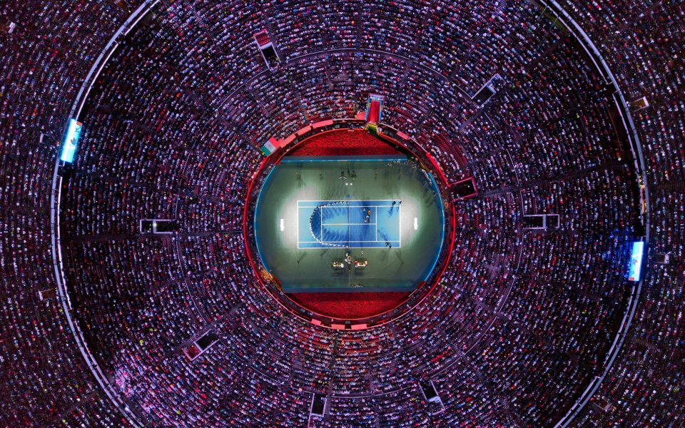 Нов световен рекорд за посещаемост на тенис мач бе регистриран