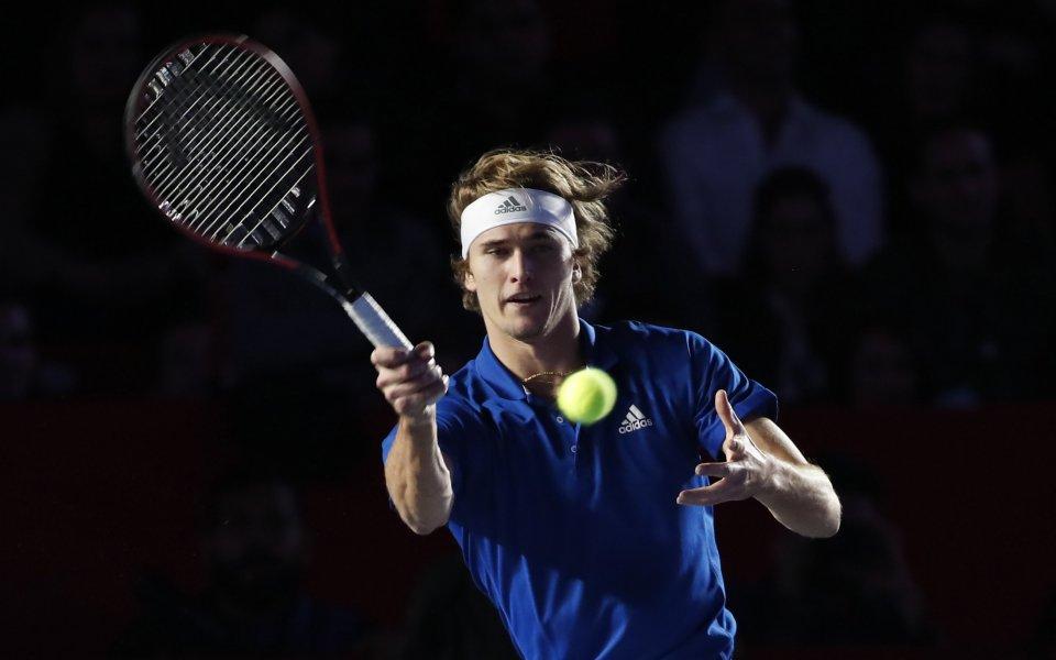 Една звездите на световния мъжки тенис - германецът Александър Зверев,