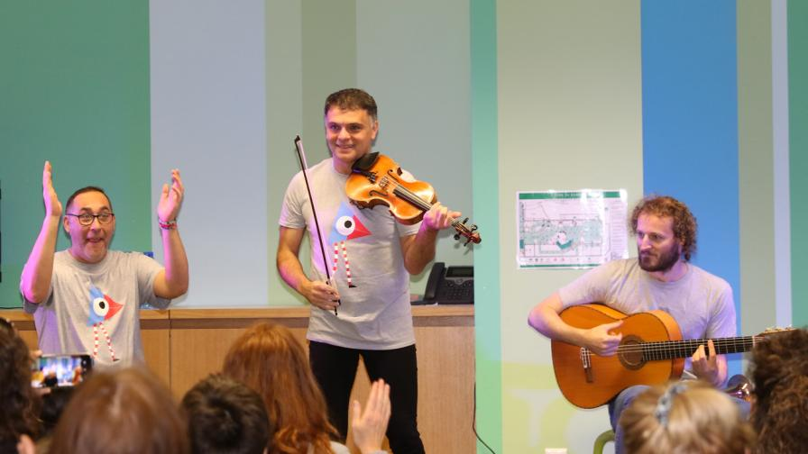 Васко Василев очарова публиката в Музейко
