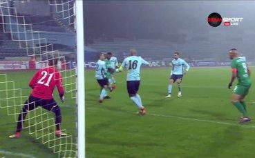 Ибрахима Конте вкарва втори гол за Берое