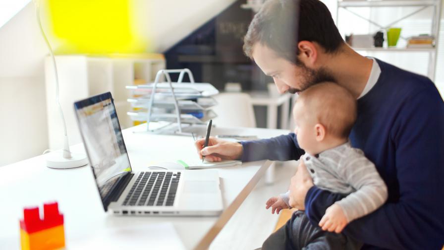 <p>Подкрепят&nbsp;ли работодателите служителите си в ролята им на родители</p>