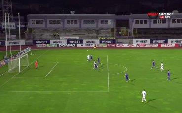 Преднината на Славия над Етър набъбна на два гола