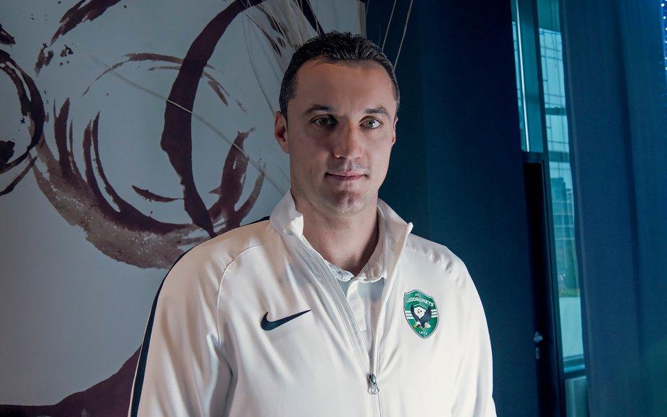Треньорът на Лудогорец - Станислав Генчев, даде интервю за GONG.BG,