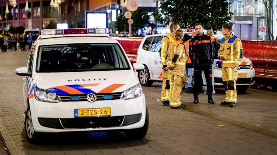 <p>Арестуваха нападателя от Хага</p>