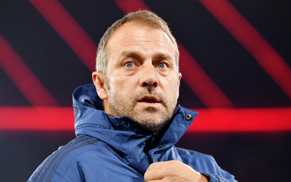 Старши треньорът на Байерн Мюнхен Ханзи Флик остана разочарован след