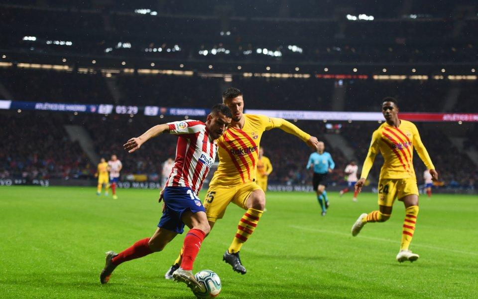 Отборите наАтлетико МадридиБарселонаизлизат един срещу друг в пореден мач от