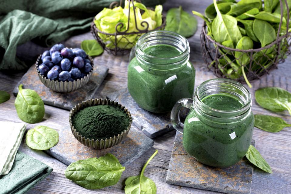 смути здраве плодове