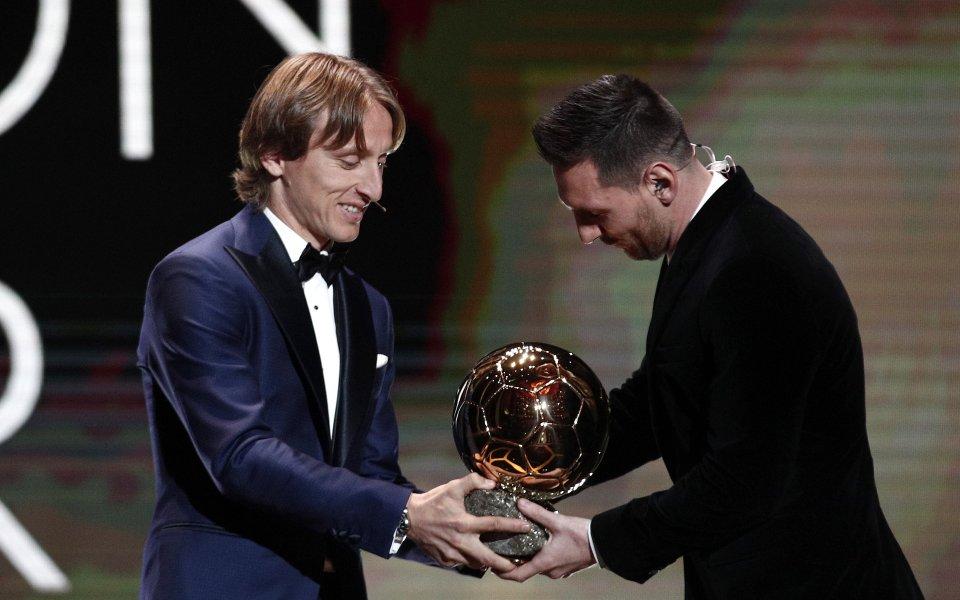 Носителят на Златната топка за 2018 година Лука Модрич коментира