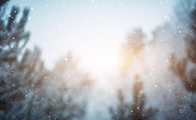 Къде ще има сняг на Коледа, времето днес