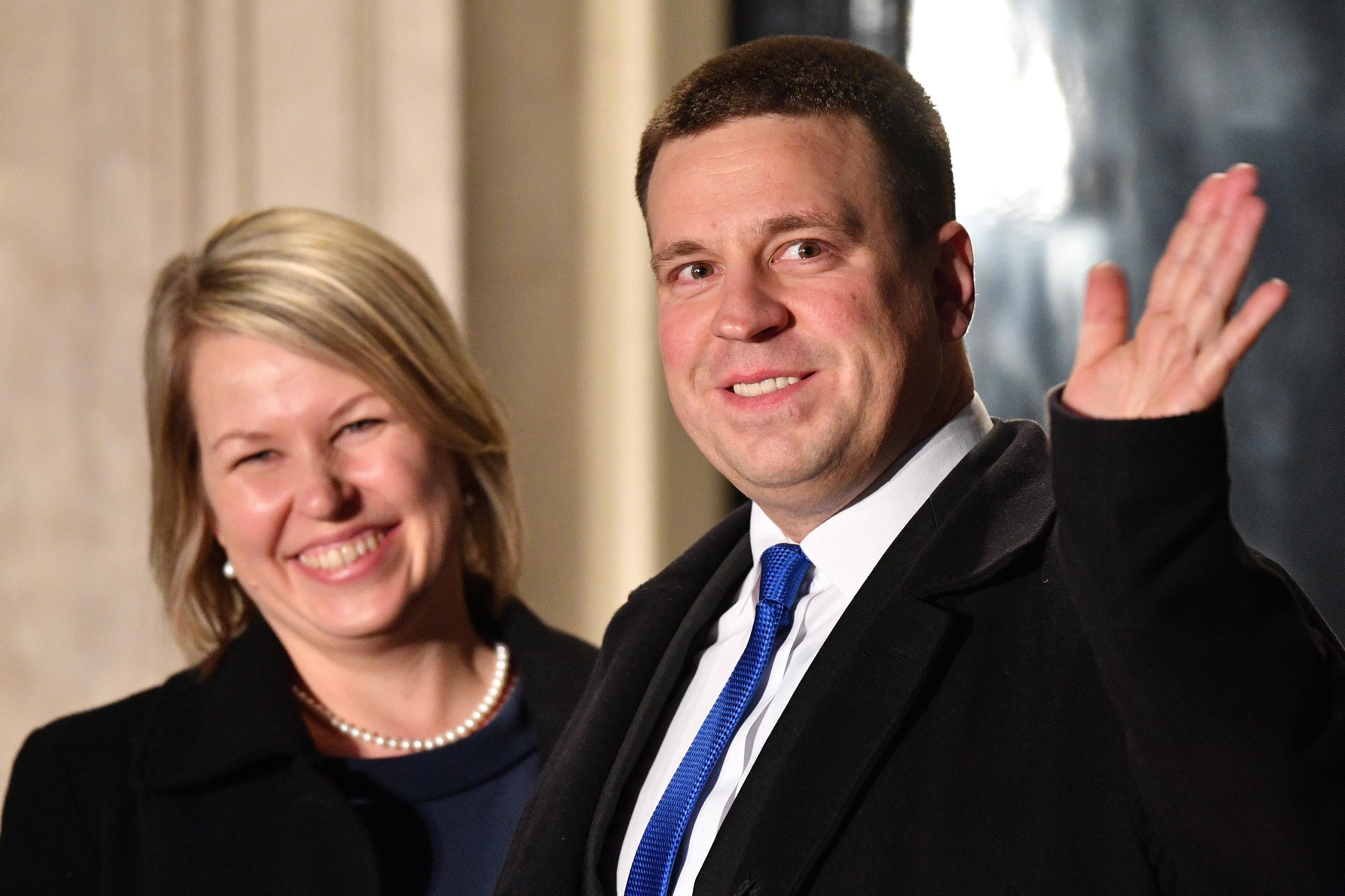 <p>Министър-председателят на Естония -&nbsp;Юрий Ратас</p>