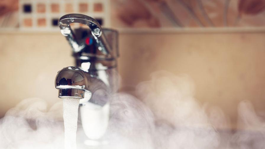 Топла вода веднага и в изобилие