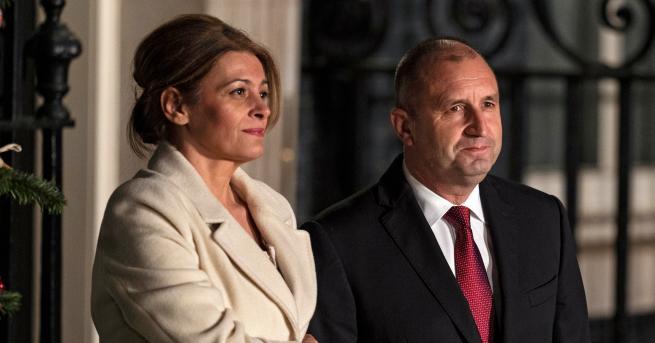Българският президент Румен Радев пристигна в Лондон за двудневна среща