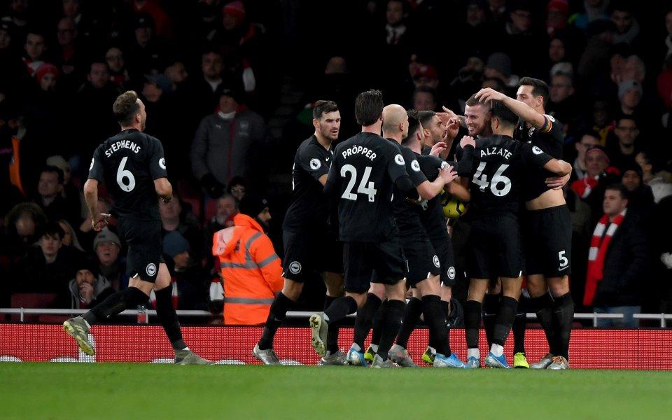 Отборът на Арсенал претърпя поредна разочароваща вечер, след като допусна