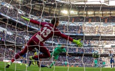 Реал Мадрид не сбърка при домакинството на Еспаньол