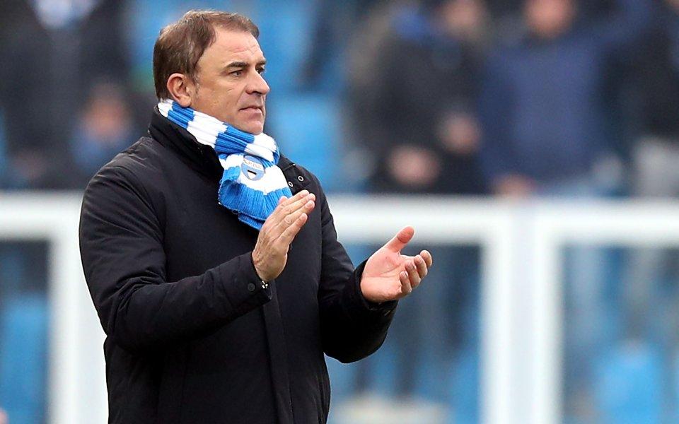Ръководството на СПАЛ продължава да вярва в старши треньора Леонардо
