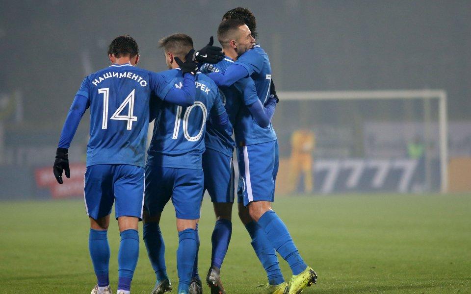 Отборът на Левски стартира подготовката си за мача с Локомотив