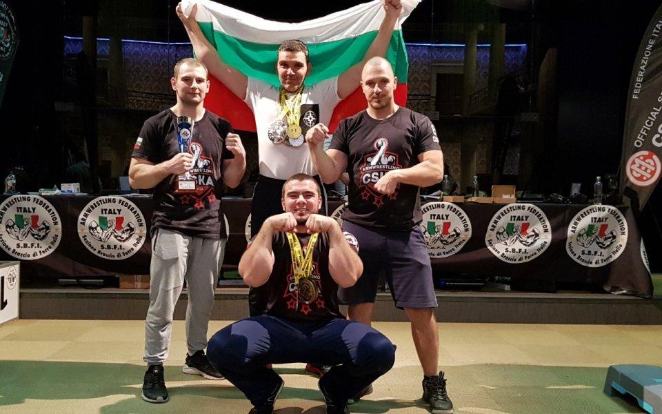 Силно представяне на СККБ ЦСКА в Италия
